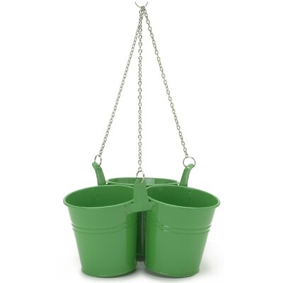 Triple Metal Hanging Planter (Set of 18)