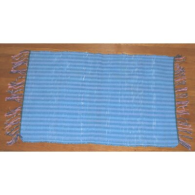 Broxton Cotton Doormat Color: Blue