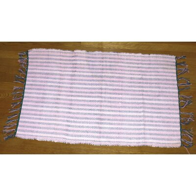 Broxton Cotton Doormat Color: Pink