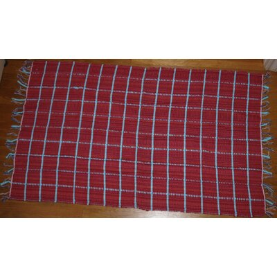 Broxton Cotton Doormat Color: Red