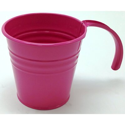 Kinnison Enameled Galvanized Scoop Color: Hot Pink