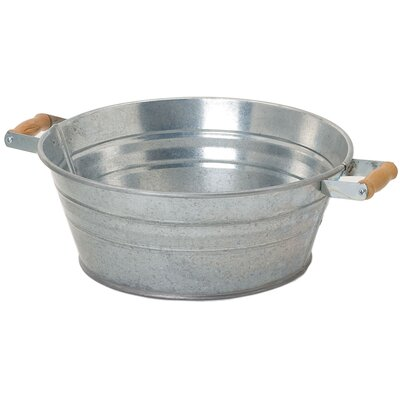Galvanized Steel Pot Planter (Set of 12)