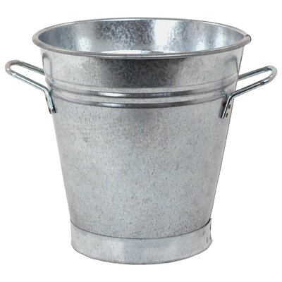 Galvanized Steel Pot Planter