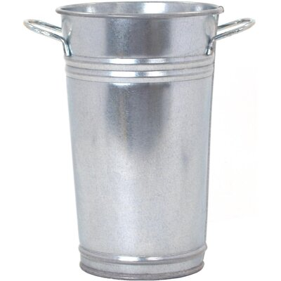 Galvanized Steel Pot Planter