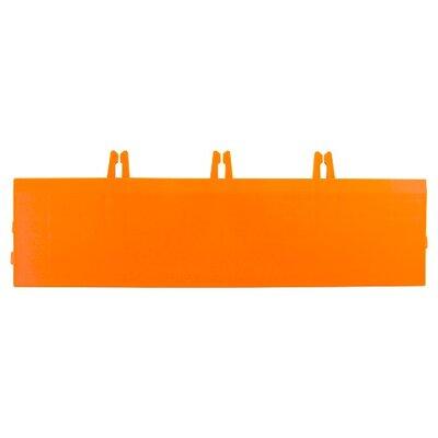Armadillo Bevels 3.63 x 12.38 Tile in Fire Orange