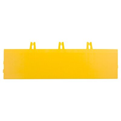 Armadillo Bevels 3.63 x 12.38 Tile in Bright Yellow