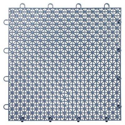 Armadillo Floor 12.63 x 12.63 Tile in Steel Blue