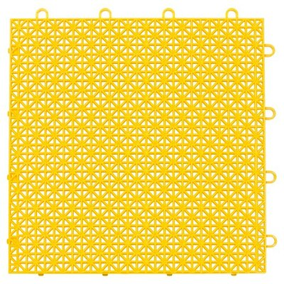 Armadillo Floor 12.63 x 12.63 Tile in Bright Yellow