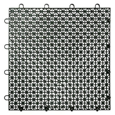 Armadillo Floor 12.63 x 12.63 Floor Tile in Black