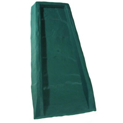Rectangular Splash Block Color: Green