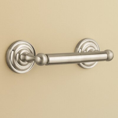 Redmond Wall Mounted Toilet Paper Holder Finish: Brushed Nickel