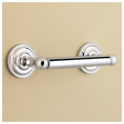 Redmond Wall Mounted Toilet Paper Holder Finish: Polished Chrome