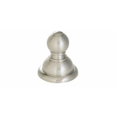 Conical Wall Mounted Robe Hook Finish: Brushed Nickel