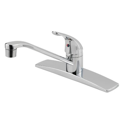 Pfirst Series Single Handle Deck Mounted Kitchen Faucet