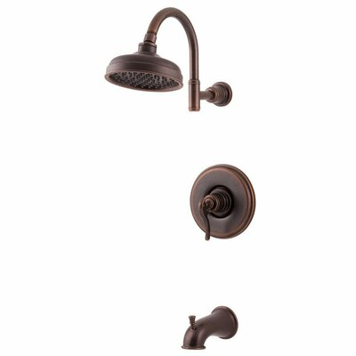 Ashfield Single Handle Tub and Shower Trim Finish: Rustic Bronze