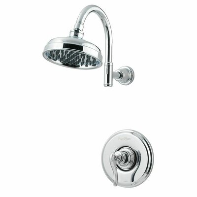 Ashfield Single Handle Shower Only Trim Finish: Polished Chrome