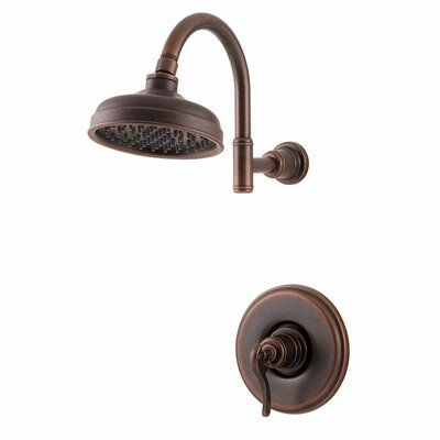 Ashfield Single Handle Shower Only Trim Finish: Rustic Bronze