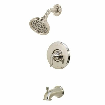 Avalon Single Handle Tub & Shower Trim Finish: Brushed Nickel