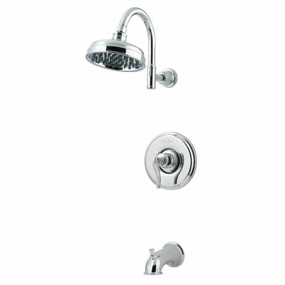Ashfield Single Handle Tub and Shower Trim Finish: Polished Chrome