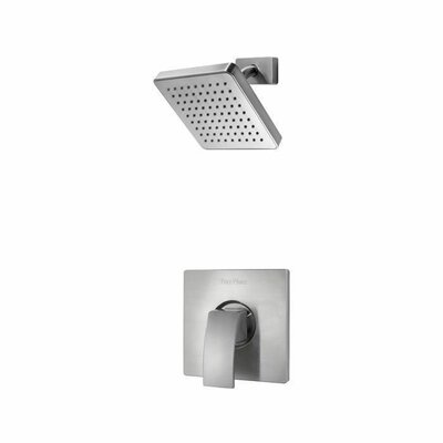 Kenzo Single Handle Shower Only Trim Finish: Brushed Nickel