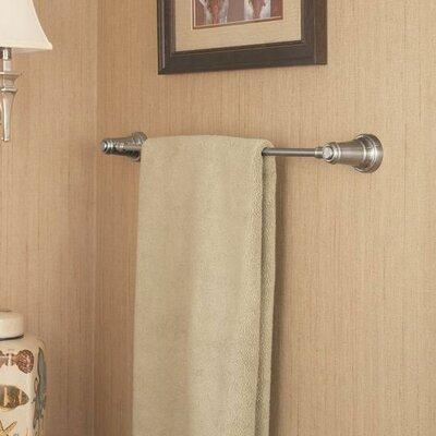 Ashfield 24 Wall Mounted Towel Bar Finish: Brushed Nickel