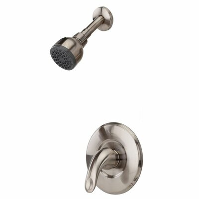 Serrano Single Handle Shower Only Trim Finish: Polished Chrome