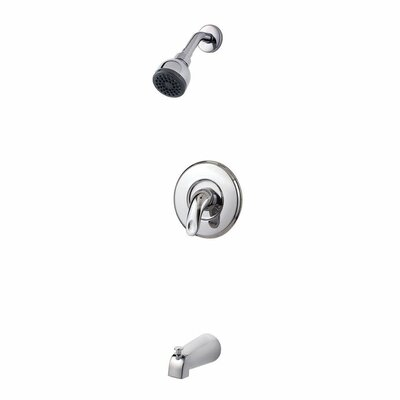 Serrano Single Handle Tub and Shower Trim Finish: Polished Chrome