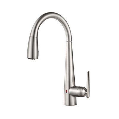 Lita Single Handle Deck Mounted Kitchen Faucet Finish: Stainless Steel