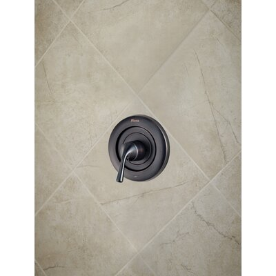 Universal Trim Single Handle Tub & Shower Valve Only Trim Finish: Tuscan Bronze