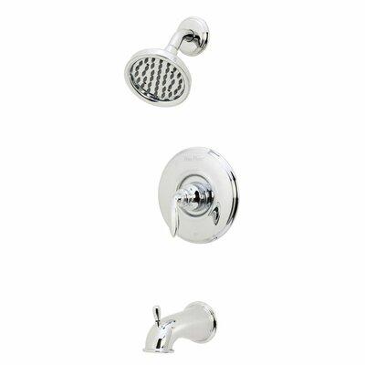 Avalon Single Handle Tub & Shower Trim Finish: Polished Chrome