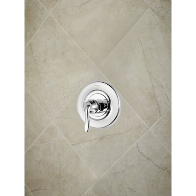 Universal Trim Single Handle Tub & Shower Valve Only Trim Finish: Polished Chrome