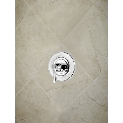 Universal Trim Declan Single Handle Tub and Shower Valve Only Trim Finish: Polished Chrome