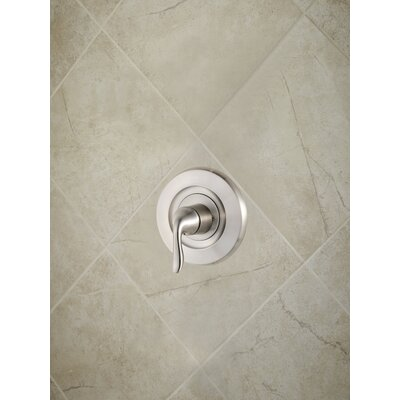 Universal Trim Declan Single Handle Tub and Shower Valve Only Trim Finish: Brushed Nickel