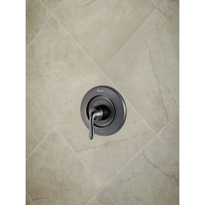 Universal Trim Declan Single Handle Tub and Shower Valve Only Trim Finish: Tuscan Bronze