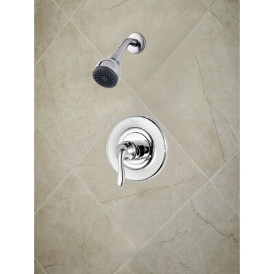 Universal Trim Declan Single Handle Shower Only Trim Finish: Polished Chrome