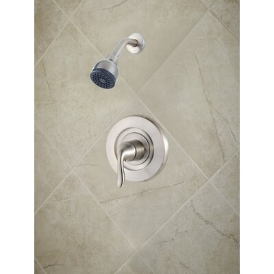 Universal Trim Declan Single Handle Shower Only Trim Finish: Brushed Nickel