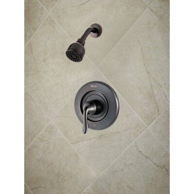 Universal Trim Declan Single Handle Shower Only Trim Finish: Tuscan Bronze