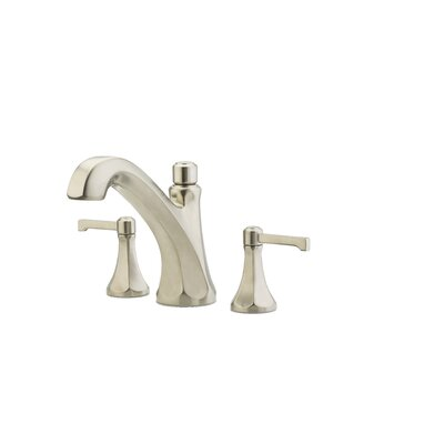 Arterra  Two Handle Complete Roman Tub Trim Finish: Brushed Nickel