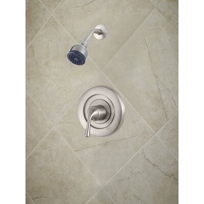 Universal Trim Single Handle Shower Only Trim Finish: Brushed Nickel