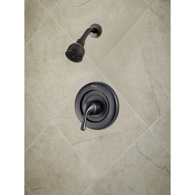 Universal Trim Single Handle Shower Only Trim Finish: Tuscan Bronze