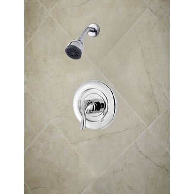 Universal Trim Single Handle Shower Only Trim Finish: Polished Chrome
