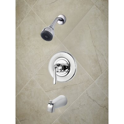 Universal Trim Declan Single Handle Tub and Shower Trim Finish: Polished Chrome
