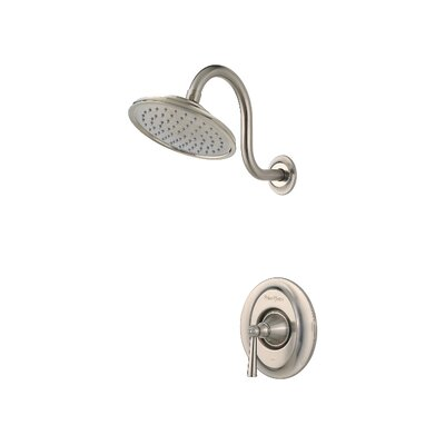 Saxton Single Handle Shower Only Trim Finish: Brushed Nickel