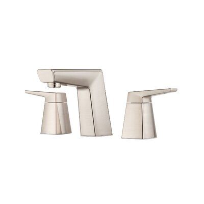 Arkitek Double Handle Widespread Bathroom Faucet Finish: Satin Nickel
