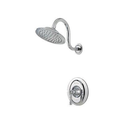 Saxton Single Handle Shower Only Trim Finish: Polished Chrome