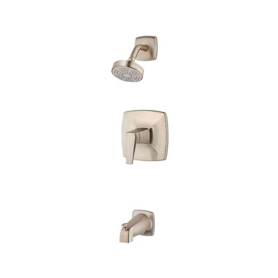 Arkitek Single Handle Tub and Shower Trim Finish: Satin Nickel
