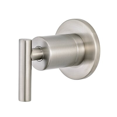 Contempra Diverter Trim with Lever Handle Finish: Brushed Nickel