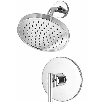 Contempra Shower Faucet Trim Single Handle Finish: Polished Chrome