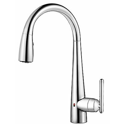 Lita Single Handle Deck Mounted Kitchen Faucet Finish: Polished Chrome