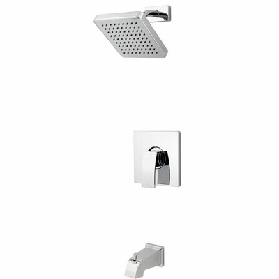 Kenzo Single Handle Tub and Shower Trim Finish: Polished Chrome